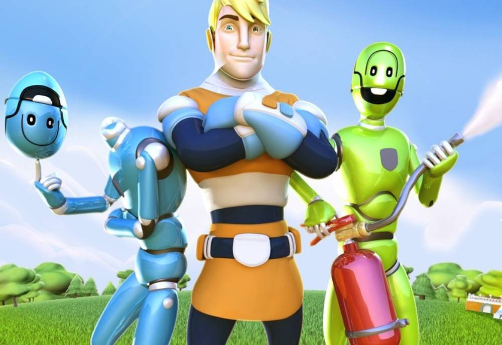 Rescuebusters animated characters