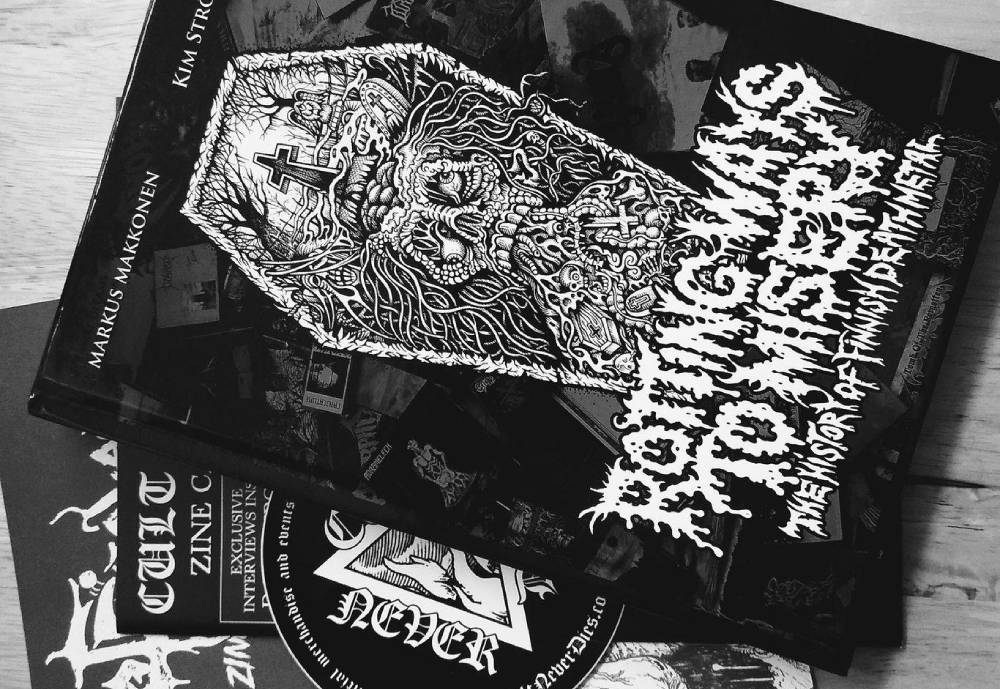 cover of death metal book