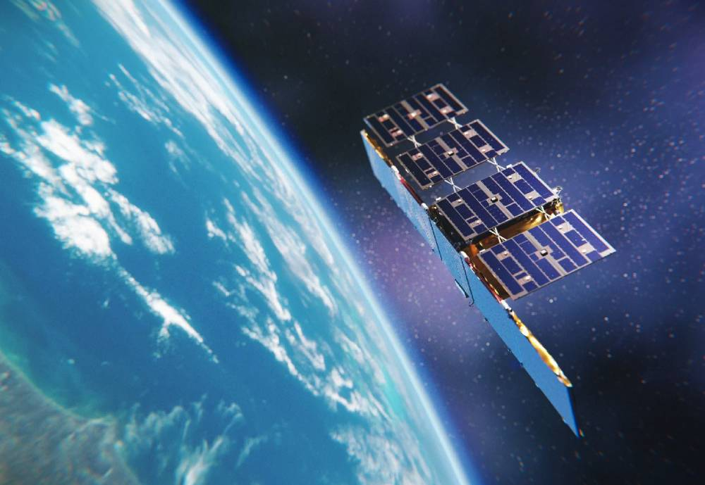 ICEYE satellite in space
