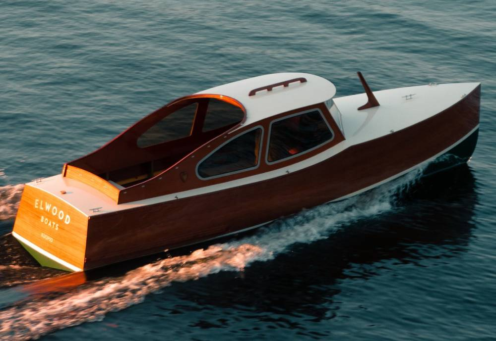 electric wooden boat