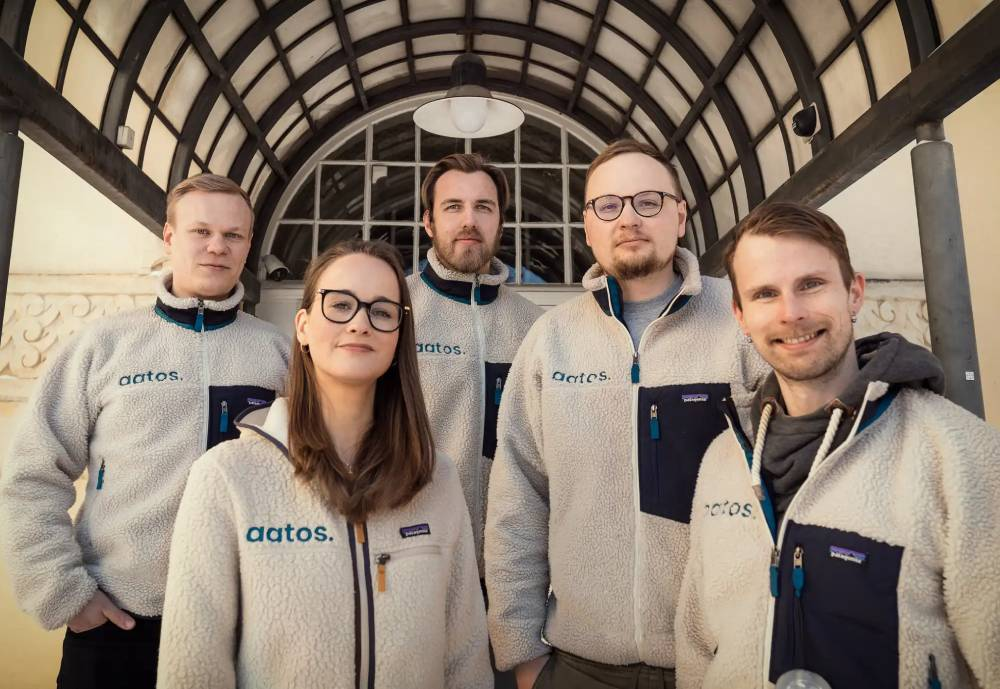 Aato Legal Technology team posing for the camera