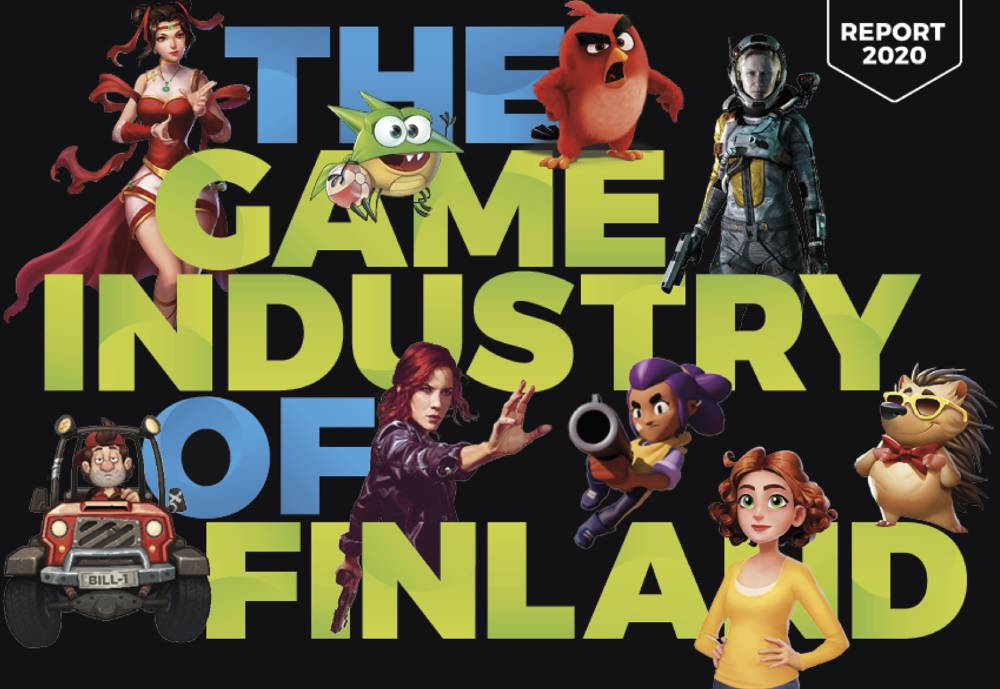 The cover of The Game Industry of Finland report