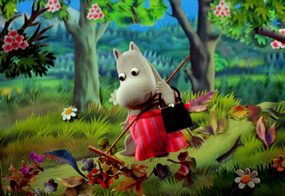 The Moomins, produced in the 1970s by the famous Polish Se-Ma-For studio, is a combination of cutout and puppet animation.