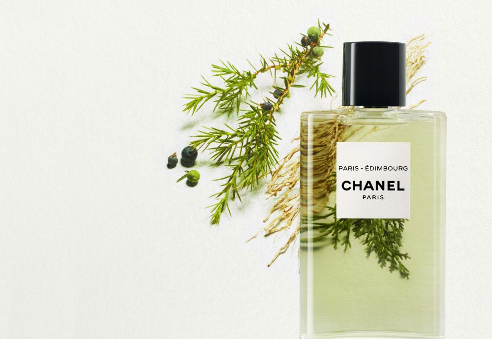 New Chanel perfume bottle and cap